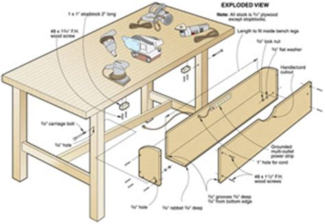 blast your bench pdf workbench plans tool crib woodproject