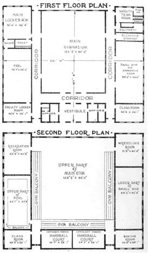 gymnasium floor plans west gymnasium rod library