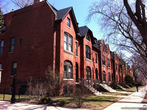 the row house slice of life the mccormick row houses chicago architecture