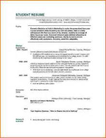 Cv Template Graduate Graduate School Resume Sle Best Resume Collection