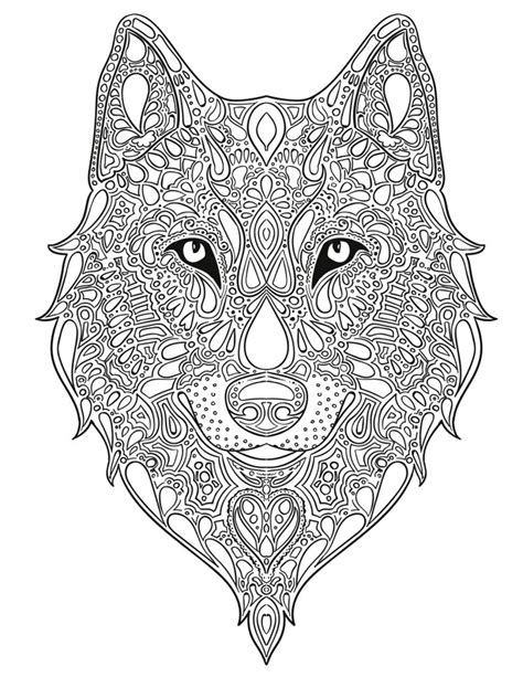 coloring books for wolves more advanced animal coloring pages for teenagers tweens boys zendoodle animals wolves practice for stress relief relaxation books 64 best images about r r s color station on