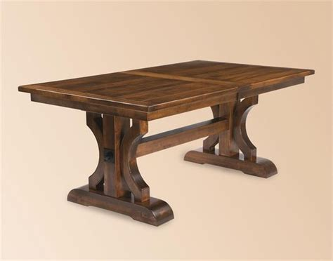 Handmade Trestle Dining Table - planks the o jays and trestle table on