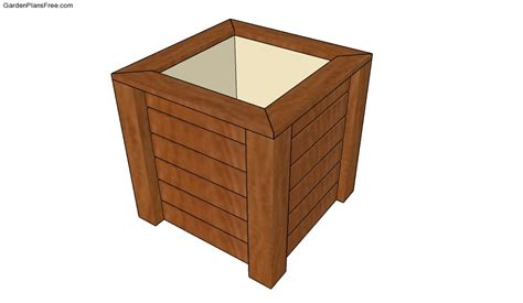 wooden planter plans wooden planter plans free garden plans how to build