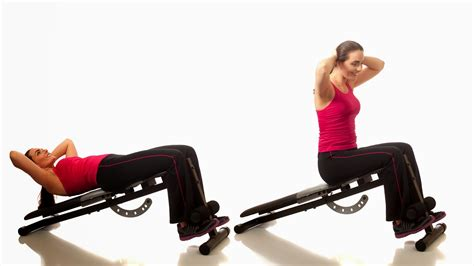bench abs exercises ab workout on bench best bench exercises for your abs
