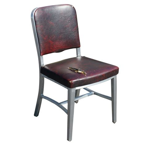 Aluminum Chair by 1 Vintage Form Aluminum Side Dining Chair Ebay