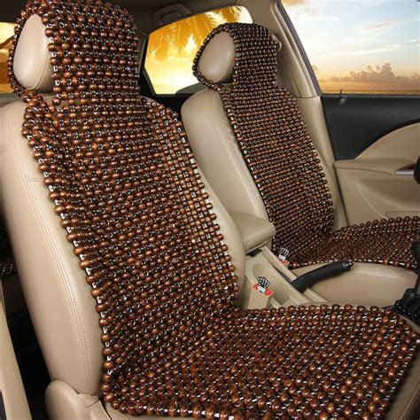 cool car seat covers australia wood wooden beaded seat cover cool