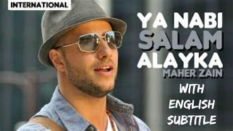 biography maher zain in english maher zain ya nabi salam alayka arabic with english