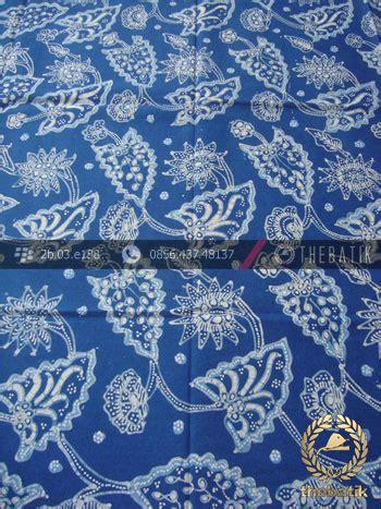 Batik Tulis Warna Alam Motif Daun batik tulis warna alam motif floral daun biru thebatik co id