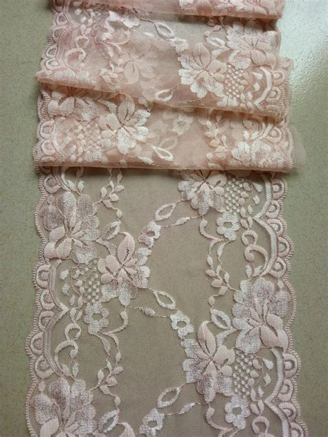 blush pink table runner blush pink lace runner 8 quot wedding table runner lace