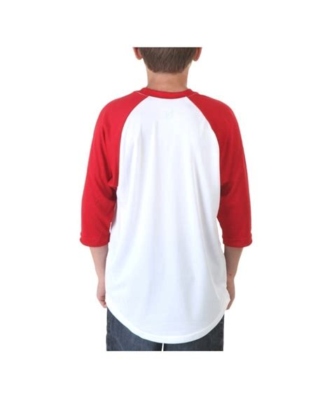 Baseball Sleeve Shirt white badger 3 4 sleeve baseball t shirt