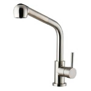 Homedepot Kitchen Faucets by Vigo Single Handle Pull Out Sprayer Kitchen Faucet In