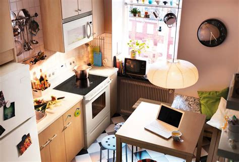 Ikea Small Kitchen Design Ideas by Kitchen Design Ideas 2012 By Ikea Brown Wall Small Space