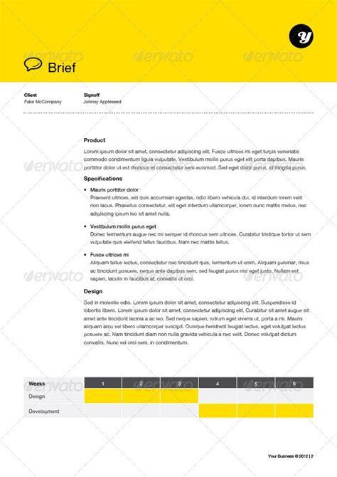 design brief sle pdf 20 best images about creative briefs on pinterest