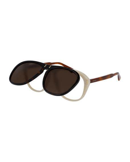 Kacamata Sunglass Sunglasses Sporty 1921 S1921polarized gucci gucci flip up aviator sunglasses brown black neiman