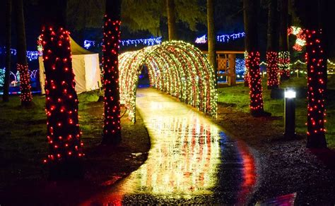 oregon garden lights best lights displays in the northwest