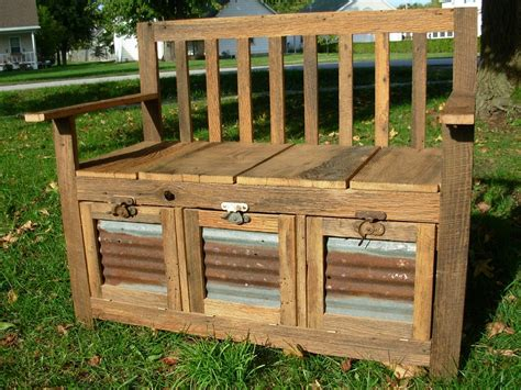 bench with flower box merbau outdoor storage bench seats planter boxes