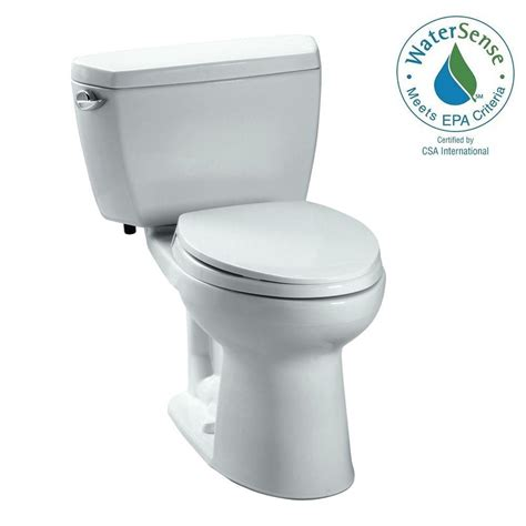 toto 2 1 6 gpf elongated toilet in cotton no