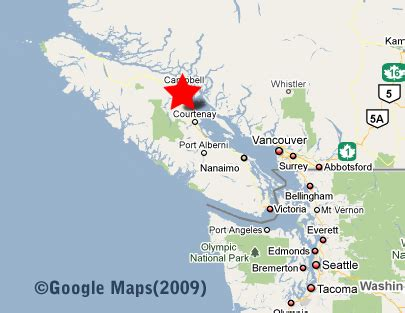 map of washington state and canada maps mt washington chalet 899 cruikshank ridge
