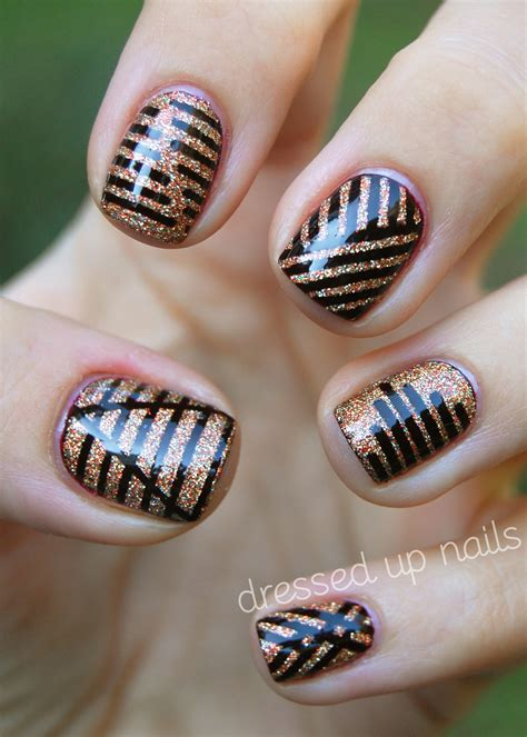 Striping Nailart reader nail week day 2 the daily nail