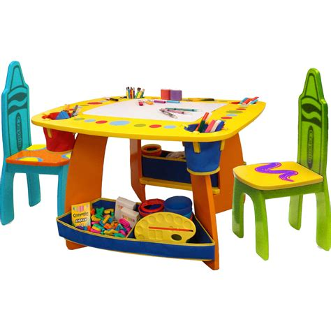 Baby Table And Chair Set by Grow N Up Crayola Table And Chair Set Arts Crafts