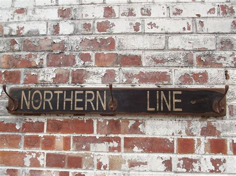 northern line hook board by woods vintage home interiors