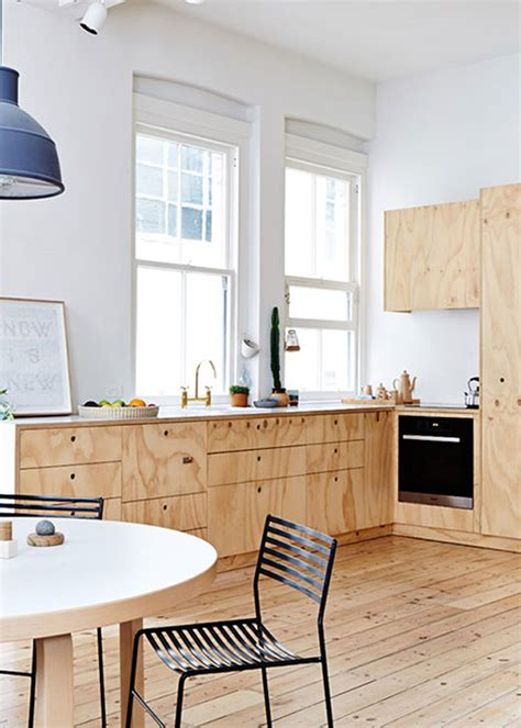 wooden open kitchen furniture