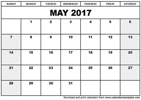 printable calendar 2017 q4 printable may 2017 calendars print blank calendars