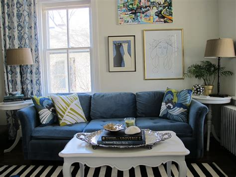 Living Room With Blue Sofa Living Room Ideas Blue Sofa Peenmedia