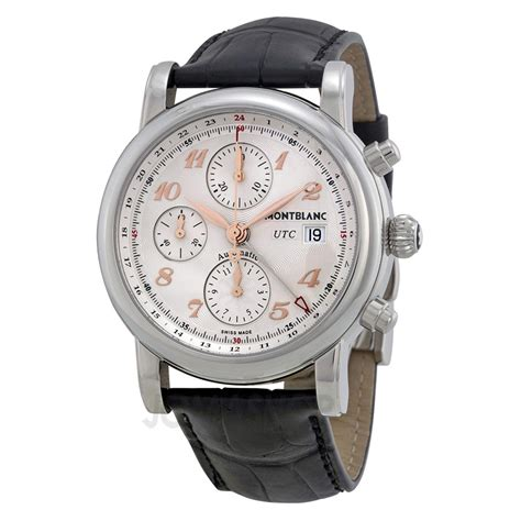 Montblanc Chonograph 1 a that breathes sophistication montblanc chronograph utc swiss classic watches