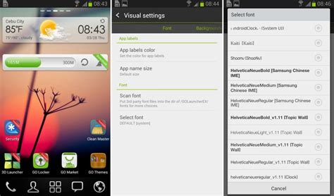 change font style for android how to change fonts for android here is how to do it