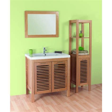 meuble de salle de bain nature faro