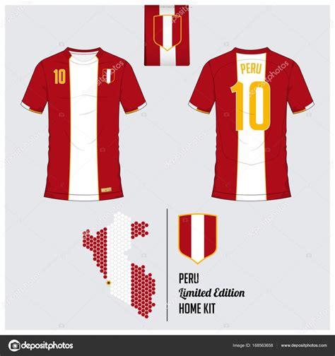 Tshirt Futbol Sala voetbal trui of voetbal kit sjabloon voor nationale