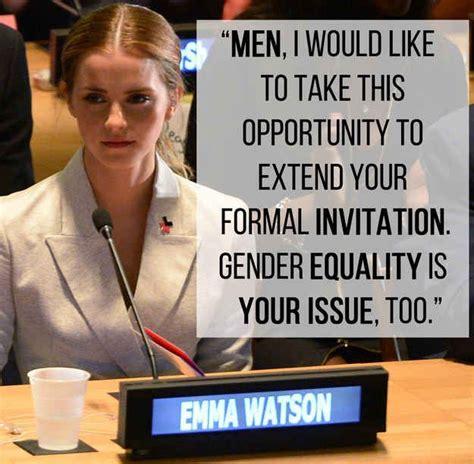 emma watson speech analysis the 25 best gender inequality ideas on pinterest gender