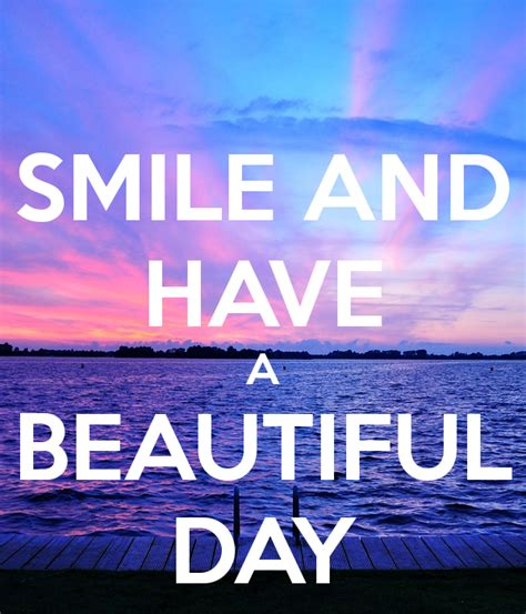 smile    beautiful day eden revisited