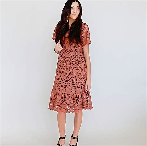 Midi Dress 2 by Groopdealz All Lace Midi Dress 2 Colors