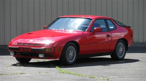1982 Porsche 924 Turbo 77 900 Miles Red 2 Door 4 Cylinder