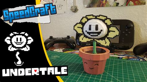 Flowey Square undertale papercraft flowey the flower