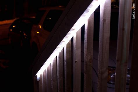 deck lighting with led rope lights jadz