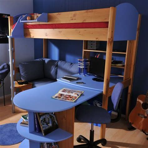 Bunk Beds With Desk For Boys Futon Bunk Bed With Desk Design Ideas Room Loft Beds Bed Plans And Desks