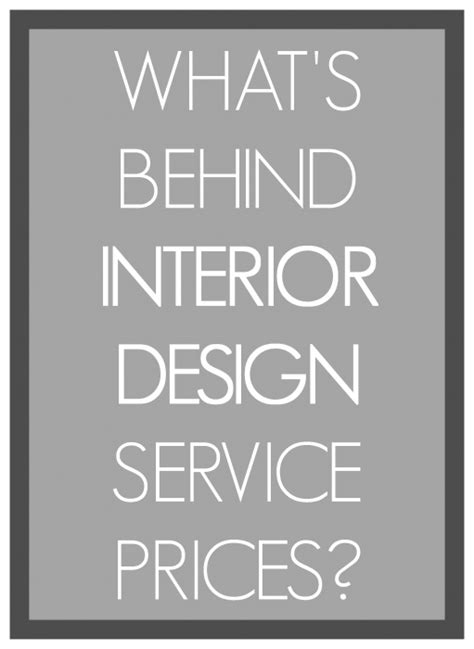 imagine design   charge  interior design services