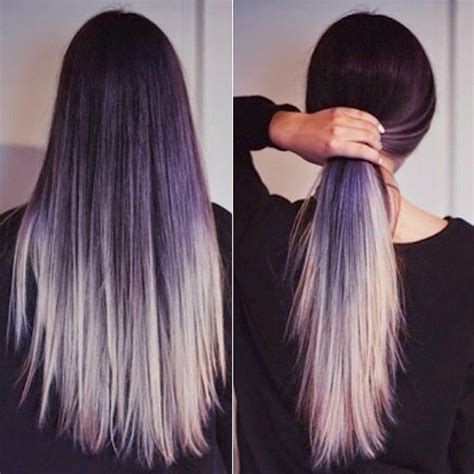 how to color weave grey how to go from dark hair to pastel color in one set of