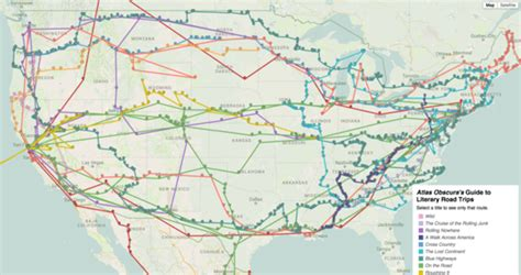interactive map usa road trip an amazingly detailed interactive map that plots 12 epic