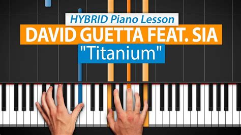 tutorial piano titanium all parts free how to play quot titanium quot by david guetta
