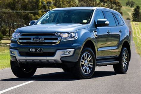 2019 Ford Suv by 2019 Ford Everest Review Price Specs Changes