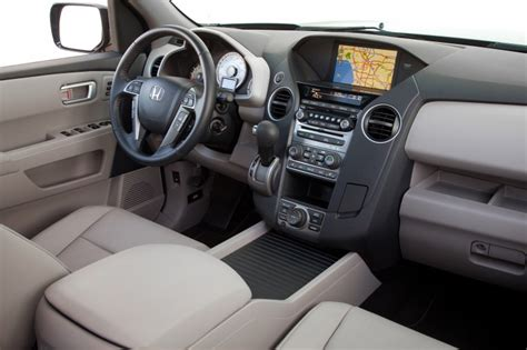2013 Honda Pilot Interior by 2013 Honda Pilot Touring Interior In Beige Color Picture