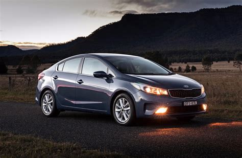 Kia Au News Kia Australia Introduces Revised 2017 Cerato
