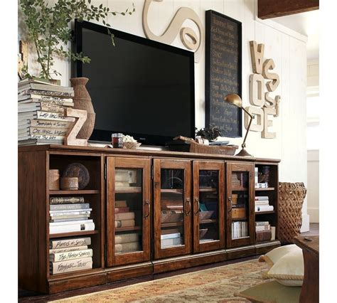 Pottery Barn Living Room Storage 19 Best Images About Wood On Side Door