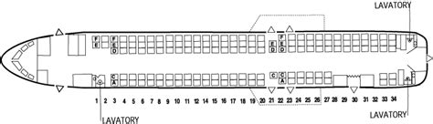md 90 seating chart mcdonnell douglas md 90 commercial aircraft pictures