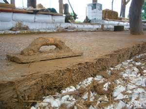 how to make an earthen or adobe floor gridders