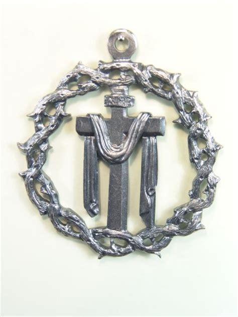 imagenes medallas catolicas medallas religiosas her 193 ldicas relieve quot santa cruz con